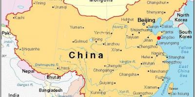 Beijing Peking Hartă Hărți Beijing Beijing China